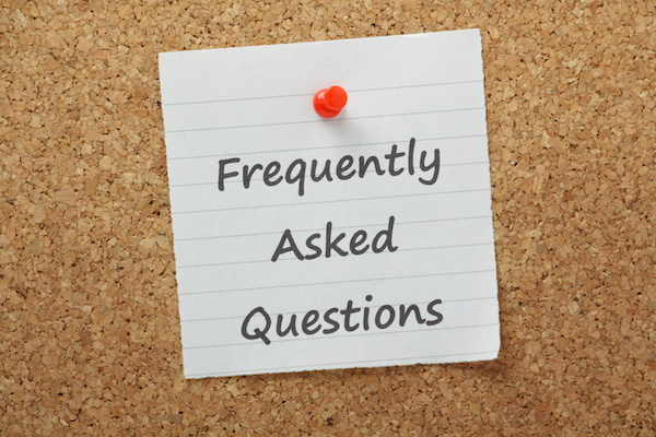 FAQs, Frequently Asked Questions