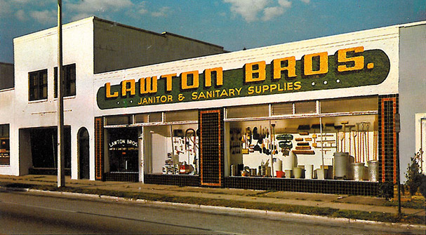 Lawton Bros. - Janitor & Sanitary Supplies