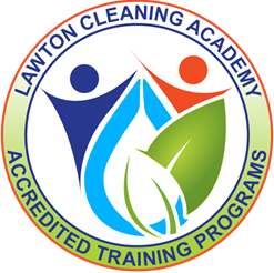 Lawton cleaning academy accredited Training logo